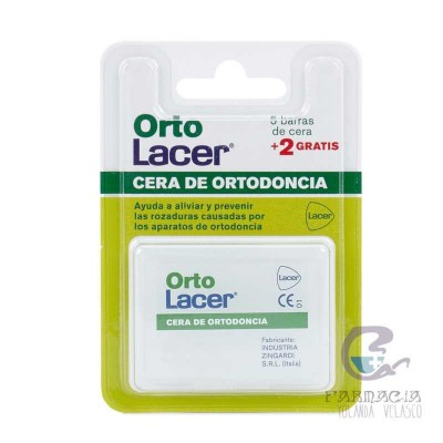 Cera Ortodoncia Protectora Ortolacer Rozadura 14 Unidades