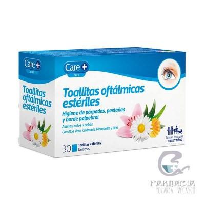 Care+ Toallitas Oftálmicas Estéril Stada 30 Unidades