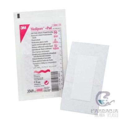 3m Medipore + Pad Apósito Estéril 10 X 20 cm 10 Unidades