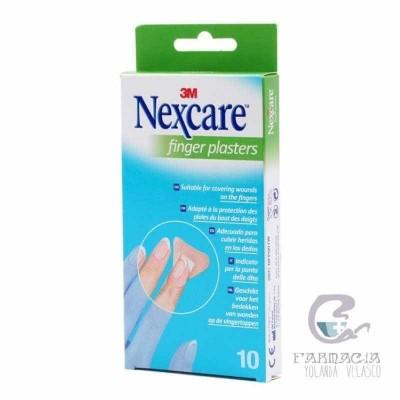 3m Nexcare 10 Tiras Para Dedos