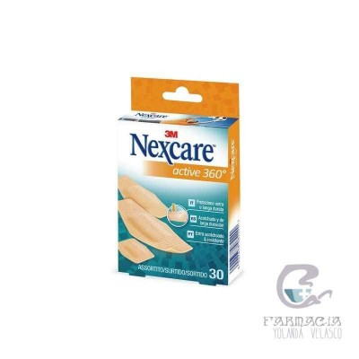 3m Nexcare Active Apósito Estéril Surtido 20 Unidades