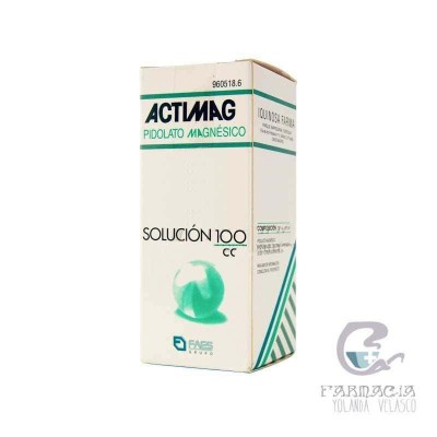 Actimag 2 g/5 ml Solución Oral 100 ml