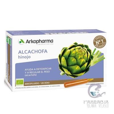 Arkofluido Alcachofa-Hinojo 20 Ampollas Bebibles