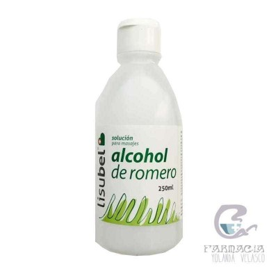 Lisubel Alcohol de Rromero 250 ml