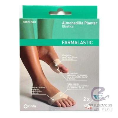 Almohadilla Plantar Farmalastic Gel de Silicona talla Mediana