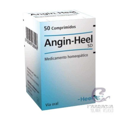 Angin-Gel Heel SD 50 Comprimidos