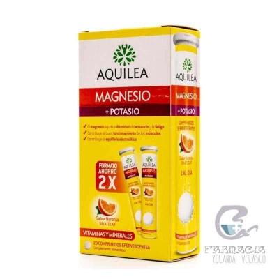 Aquilea Magnesio + Potasio Comp Efervescente 28 Comprimidos