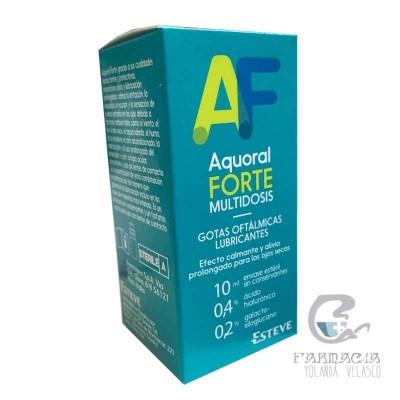 Aquoral Forte Multidosis Gotas Oftálmicas Estéril 10 ml