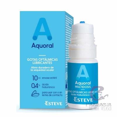 Aquoral Gotas Humectantes Ácido hialurónico 0,4% Multidosis 10 ml