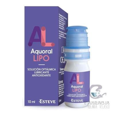 Aquoral Lipo Gotas Oftálmicas Lubricantes Estériles 10 ml