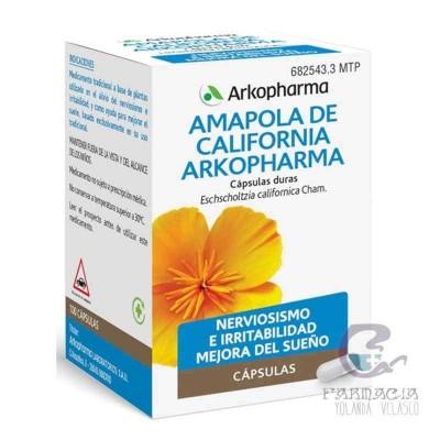 Arkocapsulas Amapola de California 50 Cápsulas