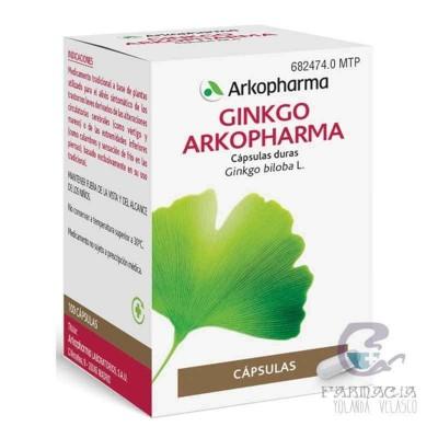 Arkocapsulas Ginko 180 mg 100 Cápsulas