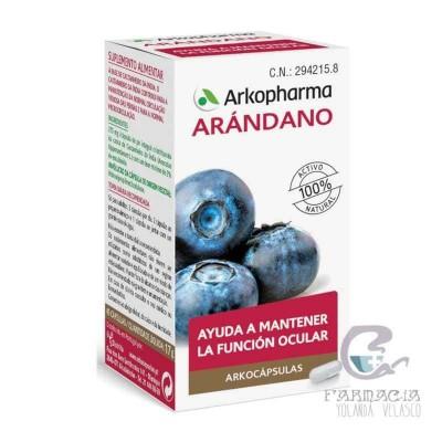 Arkopharma Arándano 50 Cápsulas
