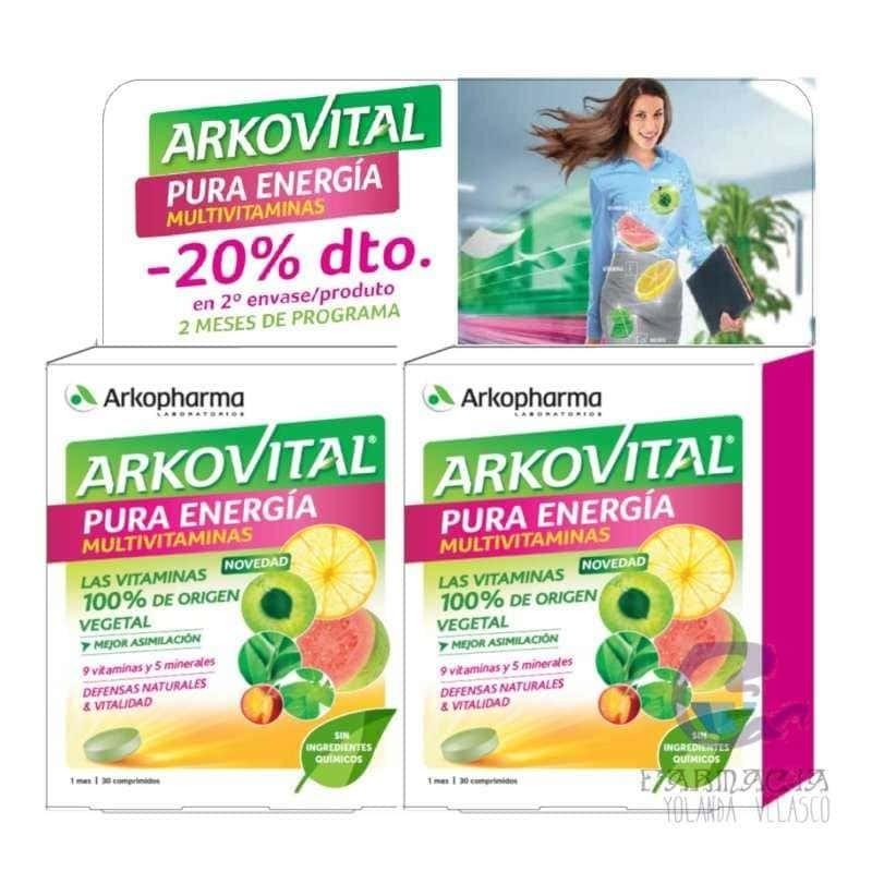 Arkopharma Arkovital Duplo Pura Energía