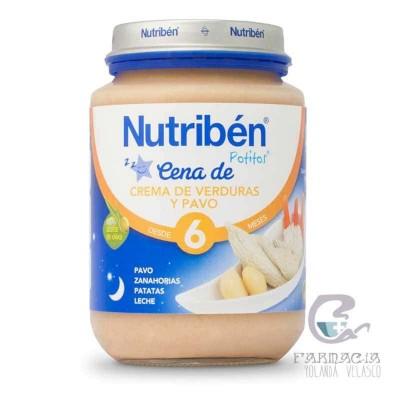 Nutriben Cena Crema Verdura con Pavo Potito Junior 200 gr