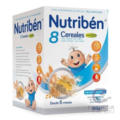 Nutriben Papilla 8 Cereales Digest 600 g