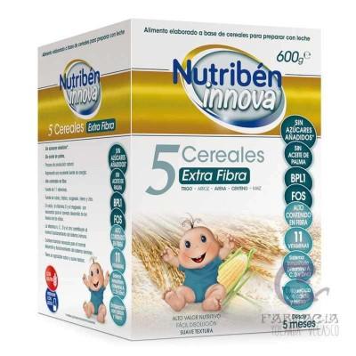 Nutriben Innova 5 Cereales Extra Fibra 600 gr