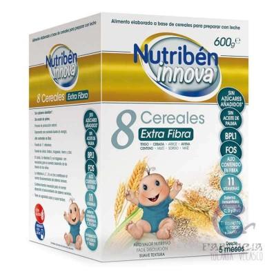 Nutriben Innova 8 Cereales Extra Fibra 600 gr