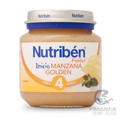 Nutriben Manzana Golden Potito Inicio 130 gr