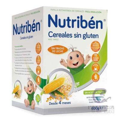 Nutriben Cereales sin Gluten Papilla 600 gr
