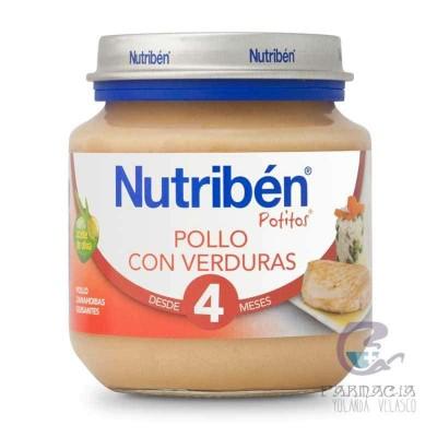 Nutriben Pollo con Verduras Potito Inicio 130 gr
