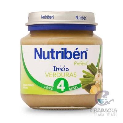 Nutriben Verduras Potito Inicio 130 gr