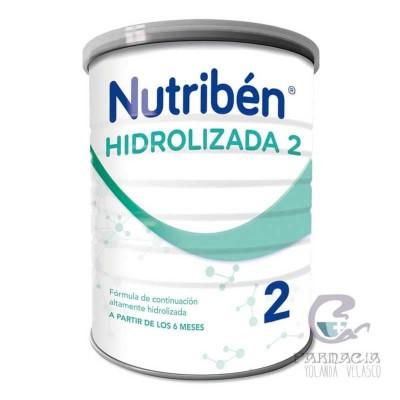 Nutriben Hidrolizada 2 400 gr Bote Neutro