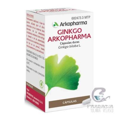 Arkopharma Ginkgo 180 mg 50 Cápsulas