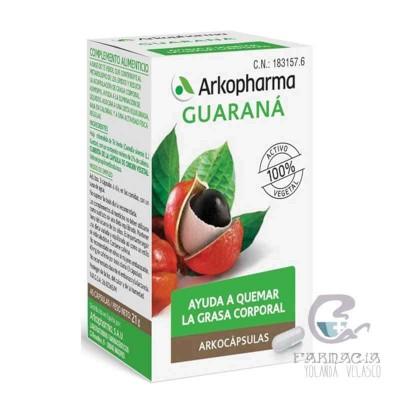 Arkopharma Guaraná 45 Cápsulas
