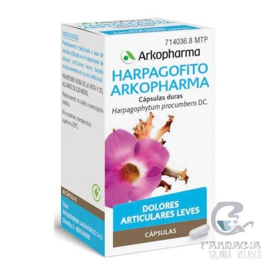 Arkopharma Harpagofito 435 mg 48 Cápsulas