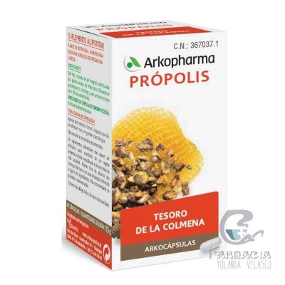 Arkopharma Própolis 50 Cápsulas