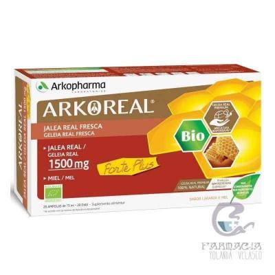 Arkoreal Jalea Real Forte Plus 1500 mg Monodosis 20 Ampollas