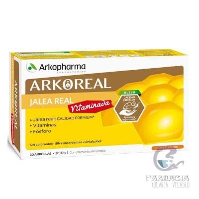 Arkoreal Jalea Real Vitaminada 500 20 Ampollas