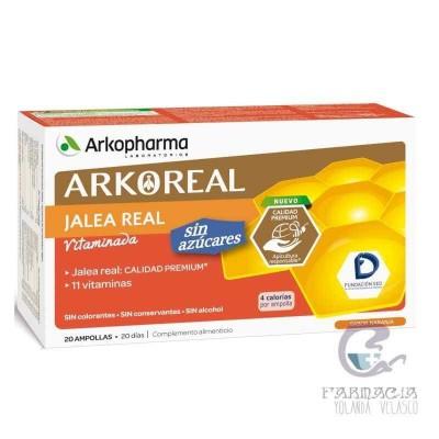 Arkoreal Jalea Real Vitaminada Sin Azucar 20 Unidosis