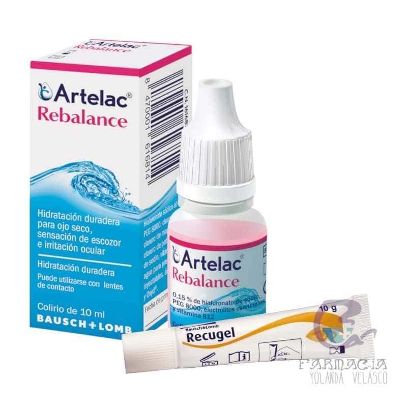 ARTELAC REBALANCE 10 ML + RECUGEL 10 GR