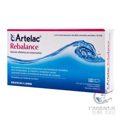 Artelac Rebalance Estéril Gotas Oculares 30 Monodosis