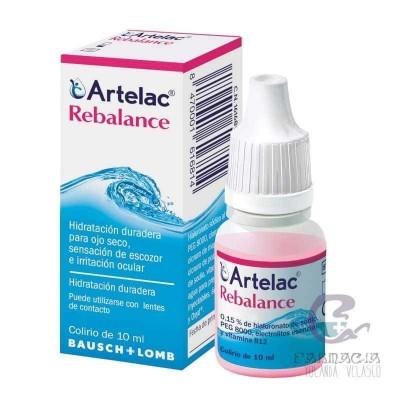 Artelac Rebalance Gotas Oculares Estériles 10 ml