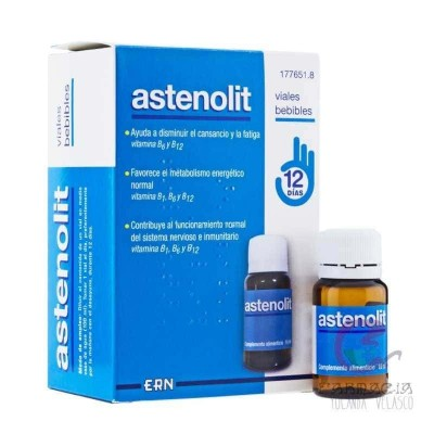 Astenolit 12 Viales 10 ml