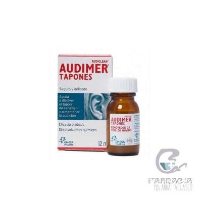 Audimer Audiclean Tapones Solución Limpieza Oído 12 ml