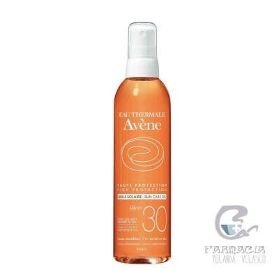 Avene Aceite Solar Alta Protección SPF30 200 ml