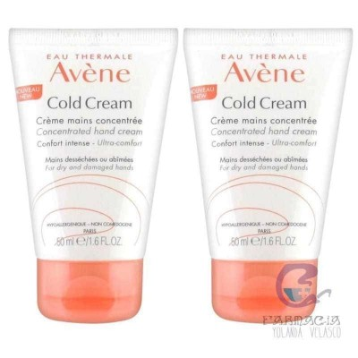 Avene Cold Cream Crema de Manos Concentrada Pack
