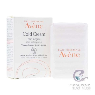 Avene Pan Limpiador al Cold Cream 100 gr