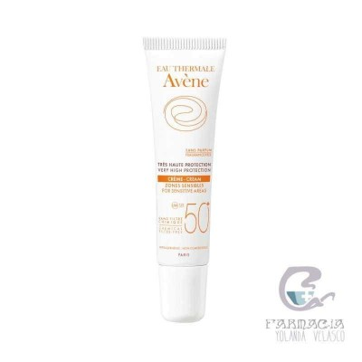 Avene SPF50+ Crema Zonas Sensibles Muy Alta Protección 15 ml