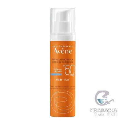 Avene SPF50+ Fluido Muy Alta Protección 50 ml