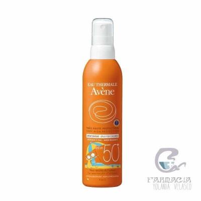 Avene SPF 50+ Spray Niños Muy Alta Protección 200 ml