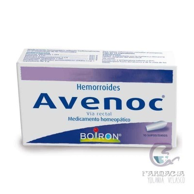 AVENOC 10 SUPOSITORIOS