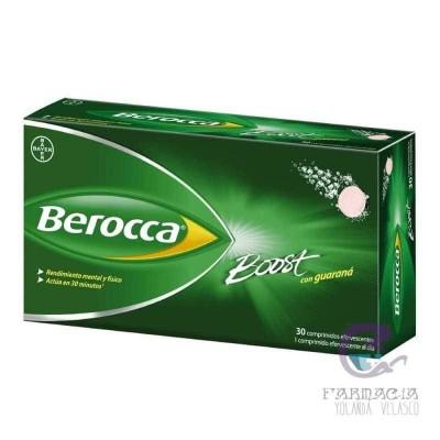 Berocca Boost Comprimidos Efervescentes 30 Comprimidos