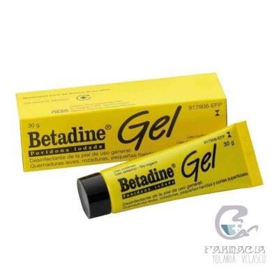 Betadine 100 mg/g Gel Tópico 30 gr