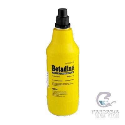 Betadine 100 mg/ml Solución Tópica 1 Frasco 500 ml
