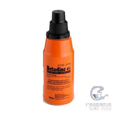 Betadine 40 mg/ml Solución Tópica Jabonosa 125 ml